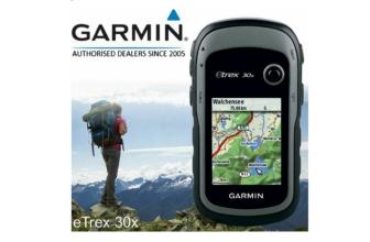 Garmin eTrex 30x, un GPS de mano con brújula de tres ejes