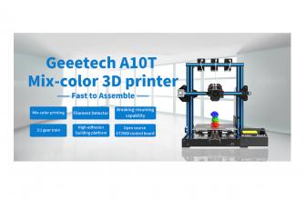 Geeetech A10T, una impresora 3D para dar color a tus proyectos