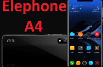Elephone A4, el entrecejo cuadriculado y económico