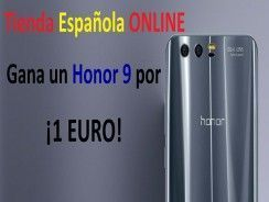 Honor 9 a 1 euro en la nueva tienda española de Honor