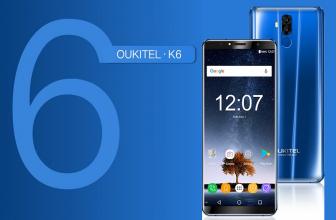 Oukitel K6, con pantalla 18:9 y una batería impresionante
