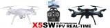Syma X5SW, ahora con vista en primera persona