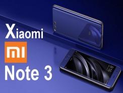 Xiaomi Mi Note 3, lo último de lo último ya es oficial