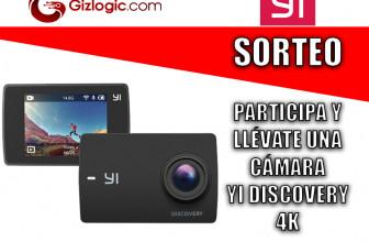 SORTEO: Llévate una cámara deportiva Yi Discovery 4K