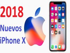 Nuevos iPhone X que aparecerían el próximo año 2018