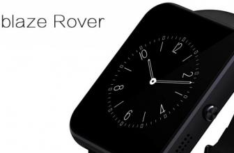 Zeblaze Rover Smartwatch: fino, elegante y bonito.