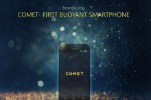 Comet: Un smartphone que flota y busca financiación.