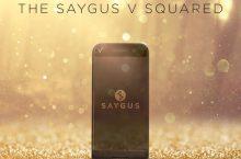 Saygus V SQUARED: Cuando se hace un teléfono cuidando cada detalle.