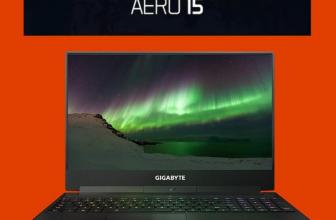 Gigabyte Aero 15, un portátil gamer de dimensiones reducidas