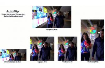 Google AutoFlip, IA para adaptar vídeos a cualquier relación de aspecto