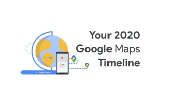 Google Maps lanza la línea de tiempo del 2020 de los usuarios