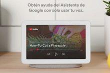 GoogleNestHub llega a España, el centrodomóticocon pantalla