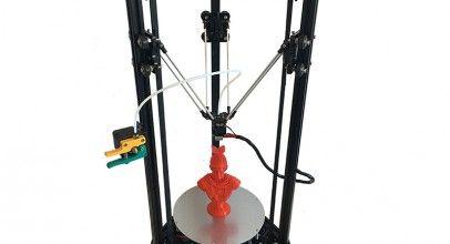 HE3D K200, impresora 3D Delta de gran precisión y bajo costo