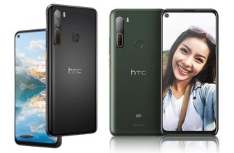 HTC U20 5G y HTC Desire 20 Pro, el regreso de la marca al mercado móvil
