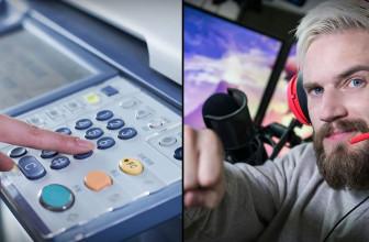 Hackers pirateanmiles de impresoras e instan a suscribirse aPewdiepie