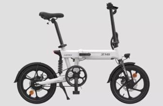 Himo Z16, bicicleta eléctrica de Xiaomi plegable y económica