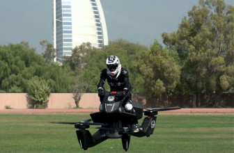Hoverbikespodrían patrullar muy pronto las calles de Dubái