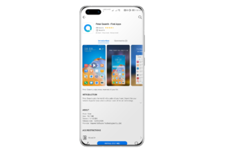 Find Apps, así es el nuevo widget de Huawei de búsqueda de aplicaciones