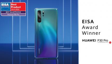 Huawei P30 Pro gana el premio a mejor Smartphone del 2019