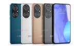 Publicados nuevos renders de alta calidad de Huawei P50