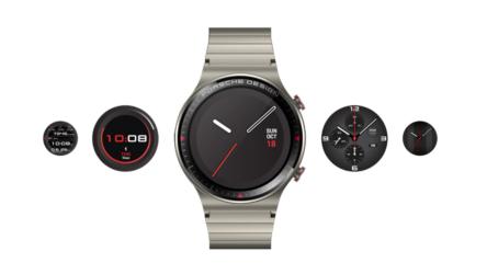 Huawei Watch GT 2 Porsche Design, una edición de lujo hecha de titanio