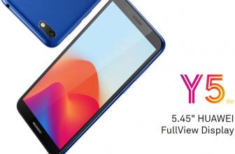Huawei Y5 Lite, Smartphoneasequiblecon AndroidGoa bordo