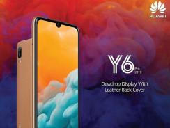 Huawei Y6 Pro 2019, gama asequible con diseño de cueroy mininotch