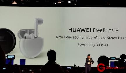 #IFA19: Huawei FreeBuds 3, con cancelación de ruido y mejor latencia