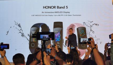 #IFA19: La Honor Band 5 llega a España con tecnología Huawei TruSeen
