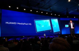 #MWC18: Huawei MediaPad M5, una tableta con buen sonido y lápiz óptico