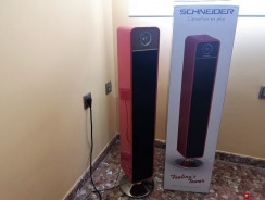 Schneider Feeling's Tower: llega a la GizOficina esta torre de sonido retro