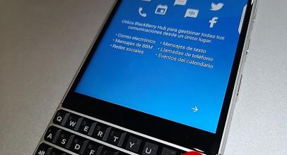 BlackBerry KEY2, probamos un smartphone con teclado físico