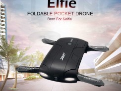 JJRC H37, un drone plegable que podrás llevar en el bolsillo