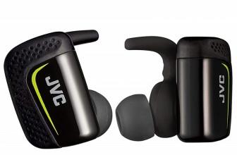 JVC HA-ET90BT, pequeños auriculares inalámbricos para entrenar
