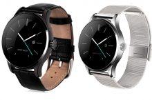 K88H Smartwatch, notificaciones push y pulsómetro