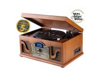 LAUSON CL146, tocadiscos con reproductor de CD´s y cassete