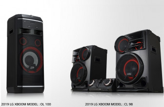 #CES19: LG XBoom presenta su nueva generación de altavoces
