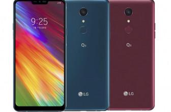 #CES19: Ya es oficial el LG Q9, con 6.1 pulgadas y Snapdragon 821