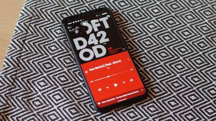 La app de YouTube Music ahora muestra las letras de las canciones