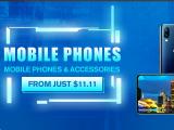 Promo Las mejores marcas de smartphones en Gearbest
