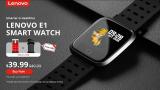 Lenovo E1, Smartwatch barato e ideal para actividades deportivas