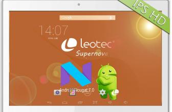 Leotec Supernova Vision Plus, ¿buscas una tablet barata?