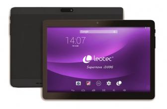 Leotec Supernova i3G96, características de la tablet española