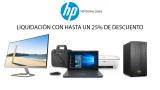 Liquidación en toda la tienda HP Store con hasta un 25% de dto