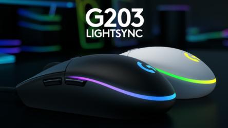Logitech G203, ratón excelente para trabajar y juegos pocos exigentes