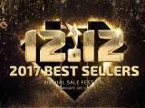 12.12: Promoción Los más vendidos de 2017 de Gearbest