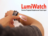 LumiWatch, un móvil con picoproyector