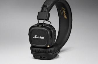 Marshall Major II, auriculares inalámbricos con 30 horas de autonomía