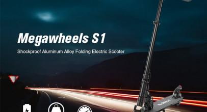 Megawheels S1, detalles de un completo monopatín eléctrico