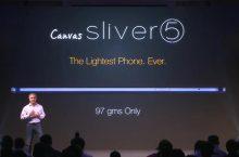 Micromax Canvas Sliver 5 seguramente el móvil más ligero del mercado